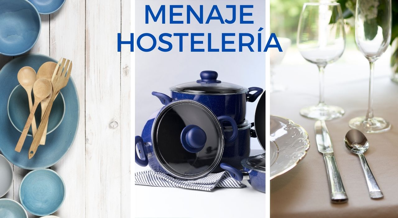 MENAJE HOSTELERÍA,