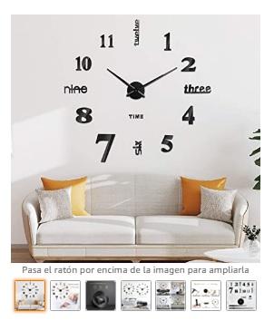 Reloj de Pared 3D,