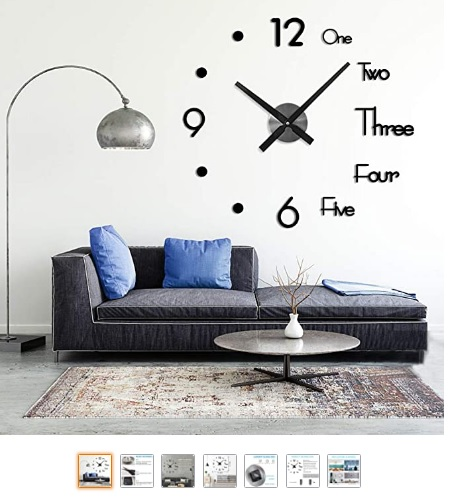 Reloj de Pared 3D, DIY
