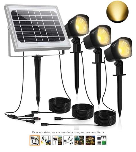 Solar Proyector LED CLY,Iluminación
