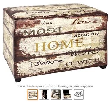 Haku Möbel caja de asiento