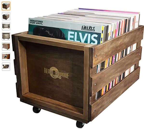 Caja de almacenamiento de discos