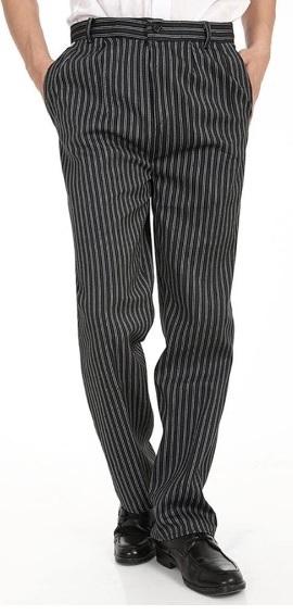 Pantalones de Chef Negro