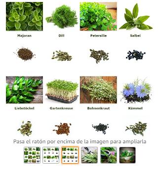 """Mezcla/Set""""Jardín de hierbas"""""""