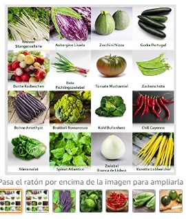 """Huerto Mezclar""""hortalizas"""
